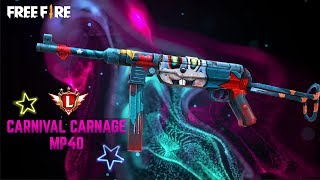 Garena Free Fire - MP40 Carnival Carnage