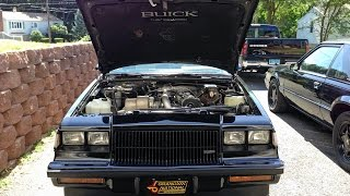1986 BUICK GRAND NATIONAL ENGINE COOING FAN & RELAYS PLUS LAUNCHES