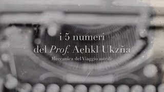 eBook Viaggi astrali - I 5 numeri del Prof. Aehkl Ukzña