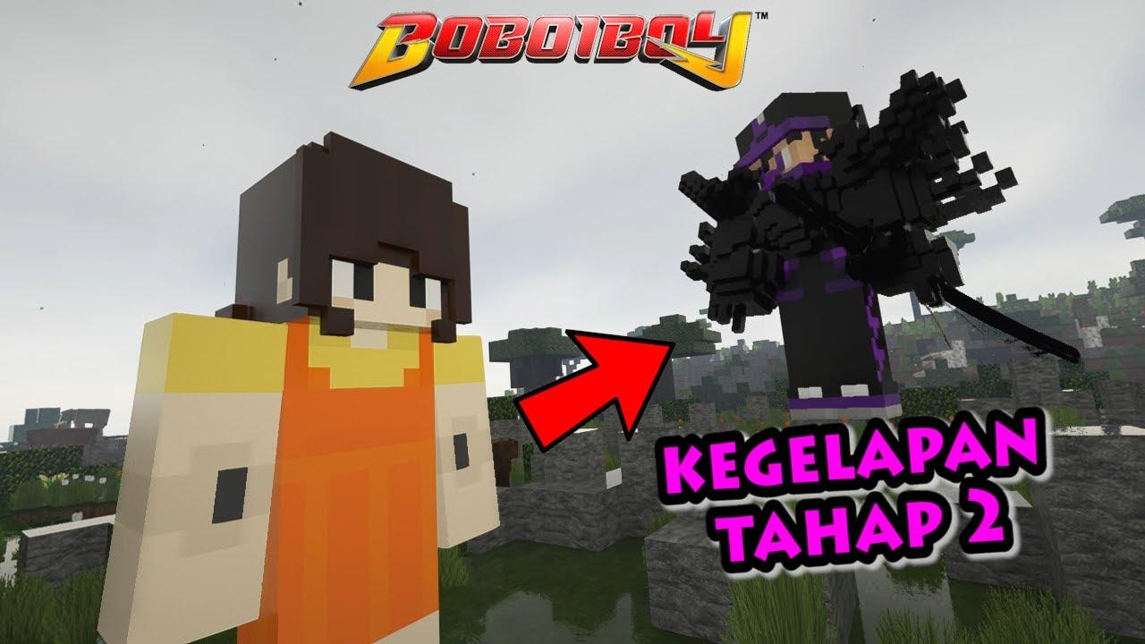 Download BoBoiBoy Kegelapan Beraksi, Boneka Squid Game Selamat - Minecraft BoBoiBoy & Upin Ipin Mod