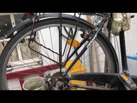 fahrrad schutzblech hinten montieren trekkingrad. Black Bedroom Furniture Sets. Home Design Ideas