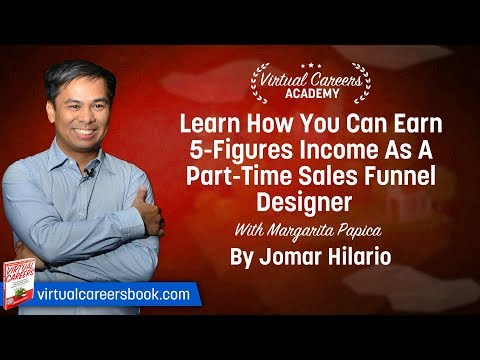 Learn How You Can Earn 5-Figure Income As A Part-Time Sales Funnel Designer