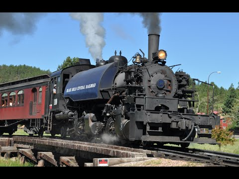 Black Hills Central Railroad Steam Train