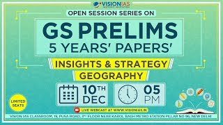 Open Session Series on GS Prelims 5 Years