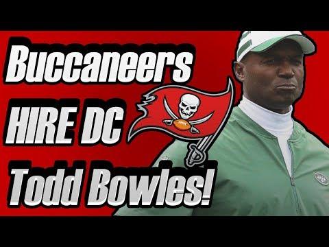 Buccaneers HIRE Todd Bowles! Can he revive the buccaneers defense?