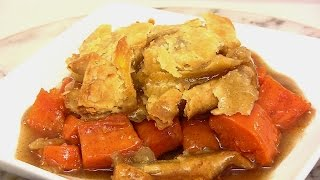 Sweet Potato COBBLER!  A Decadent but Easy Dessert |Cooking With Carolyn