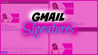 Google Mail-Signatur Wie erstelle aa Gmail E-Mail-Signatur mit einem logo