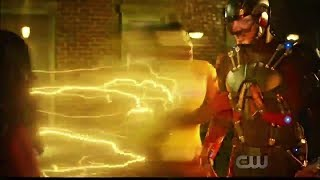 DC's Legends 3x13 Kid Flash saves Ray Palmer Scene
