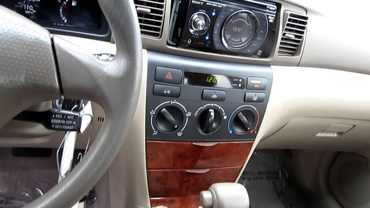 2005 Toyota Corolla LE, Blue   Stock# L416132   Interior   YouTube