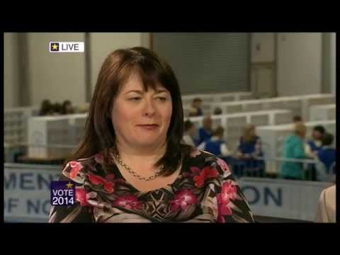 Northern Ireland European Live Elections 2014 PT 2