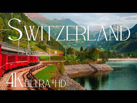 Switzerland (4K UHD) Relaxing Piano Music