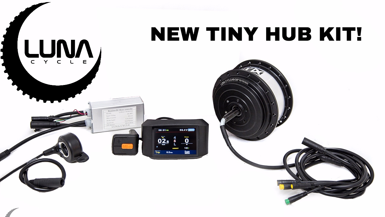 luna cycle announces a new small and powerful hub motor kit