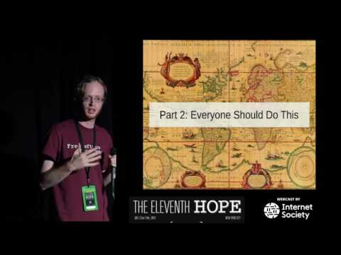 The Eleventh HOPE (2016): Coding by Voice with Open Source Speech Recognition
