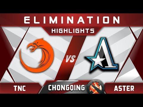 TNC vs Aster Elimination Chongqing Major CQ Major Highlights 2019 Dota 2 thumbnail