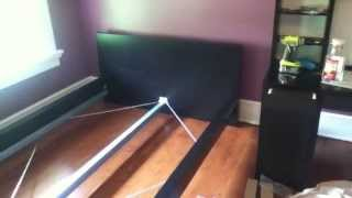 Ikea Malm Bed Assembly Tips And Tricks Tutorial (for Use With Box Spring Mattress)