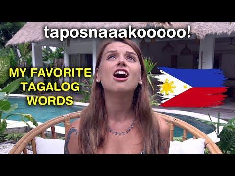 MY FAVORITE FILIPINO WORDS