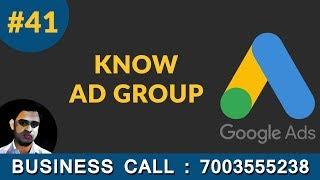 Erstellen Sie Neue Google Ad-Gruppe Google-Anzeigen Tutorial in Hindi 41