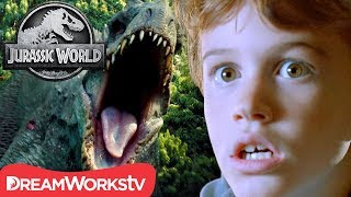 Is Jurassic World TOO Scary for Kids? | JURASSIC WORLD