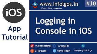 Logging into the Console in xCode - Tutorial 10