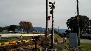 踏切動画 ふみきりカンカン電車が通ります