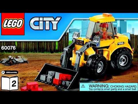 LEGO City Demolition Site 60076 Instructions Book DIY 2
