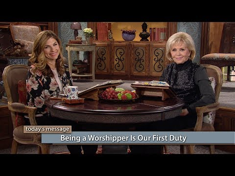 Being a Worshipper Is Our First Duty with Gloria and Kellie Copeland (Air Date 11-7-17)