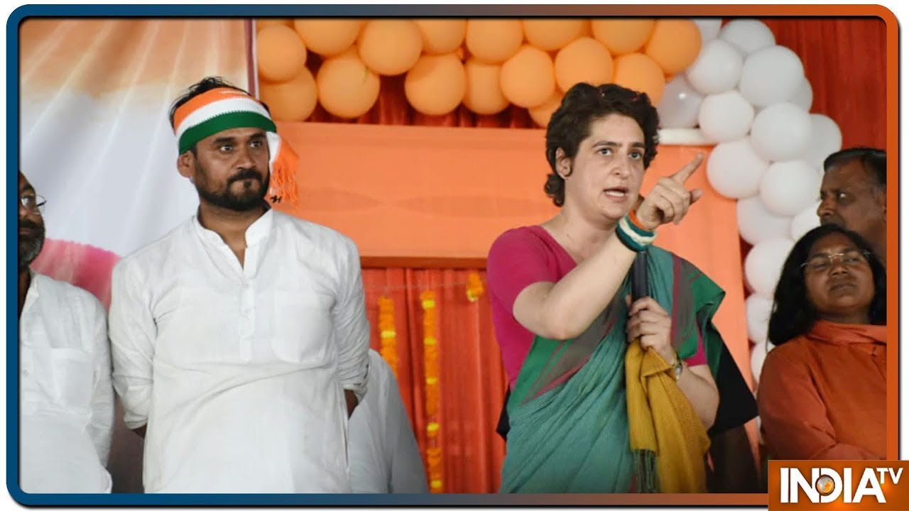 Election Live Blog: Our fight is against BJP, Priyanka Gandhi responds to SP-BSP jibes