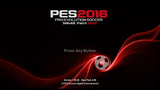 PES 2016 SMoKE Patch 8.5 Full AIO + 8.5.2 Season 2016/2017