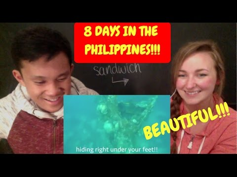 8 Days in the Philippines REACTION