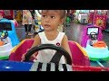 Balita Lucu Naik Odong Odong di Mall - Mobil Mainan Anak - Fun Indoor Playgound for kids