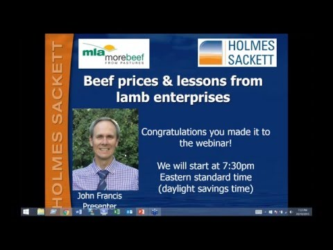 MBfP webinar | Cattle prices