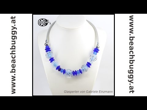 Gabi Stainless Steel Necklace For Glass Beads