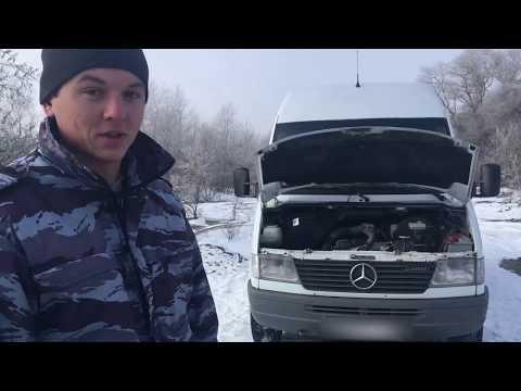 Замена масла в ДВС Мерседес Спринтер ОМ 601