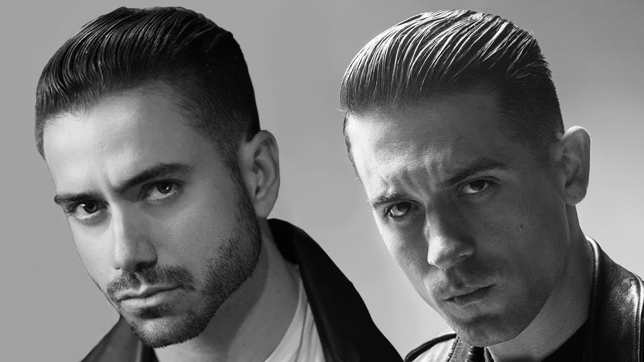 g-eazy haircut & hairstyle | men's hairstyle tutorial | the beautiful & damned inspired