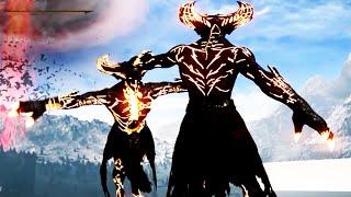 Mortal Kombat X Corrupted Shinnok Boss, Secret Character Death Victorys on Rain, Sindel, & Baraka