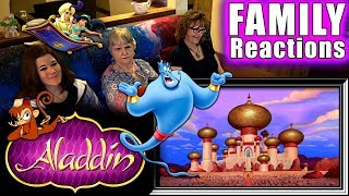Aladdin   FAMILY Reactions