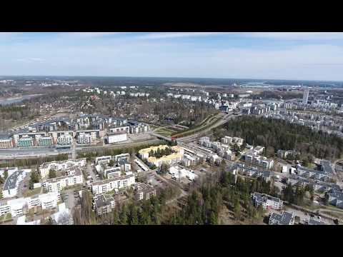 Vuosaari 360 4K by Air 6.0, Rastila Stagparken 80m 150m