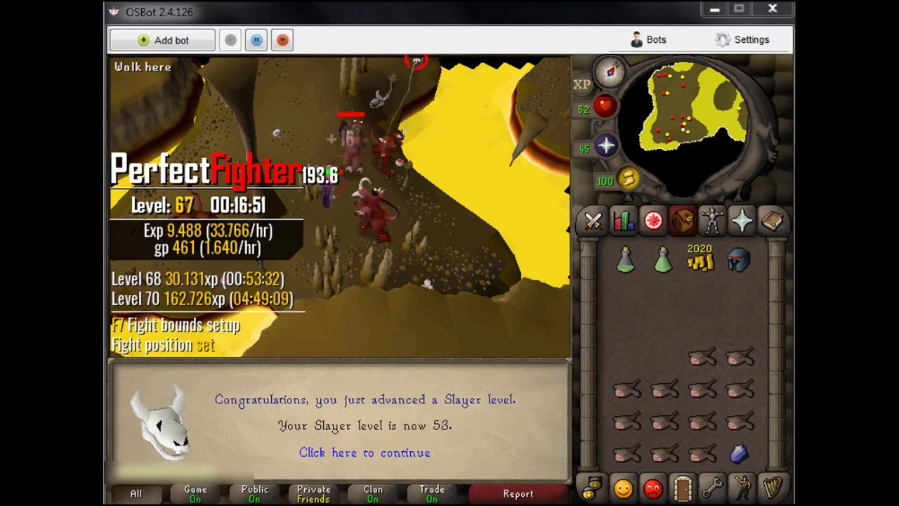 OSRS] Botting to max stats S01E07 Part A