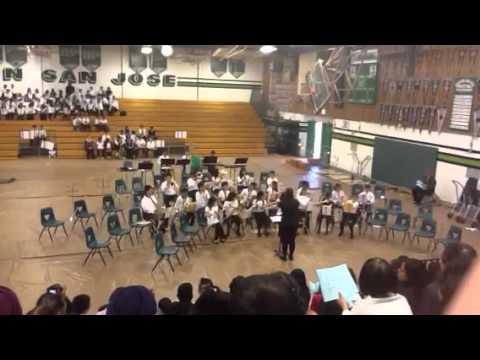 Mission San Jose Elementary School Beginning Band 1