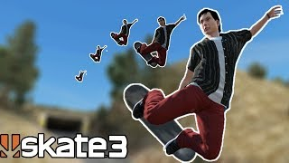 Skate 3: MASSIVE GAPS w/ SPEED GLITCH!
