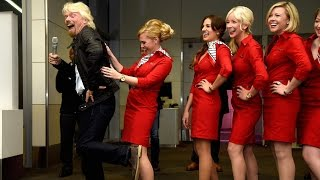 Richard Branson Explains Why Virgin Is Ditching GoGo Wifi for ViaSat