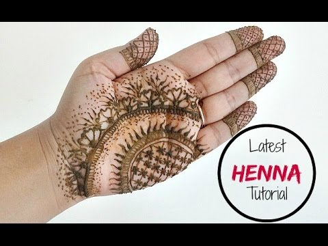 Diy Instagram Henna Modern Latest Mehndi Tattoo Design With