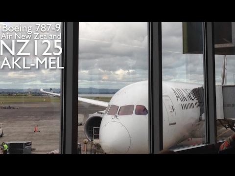 NZ125 | 787-9 | AKL-MEL | Air New Zealand | Trip-Report
