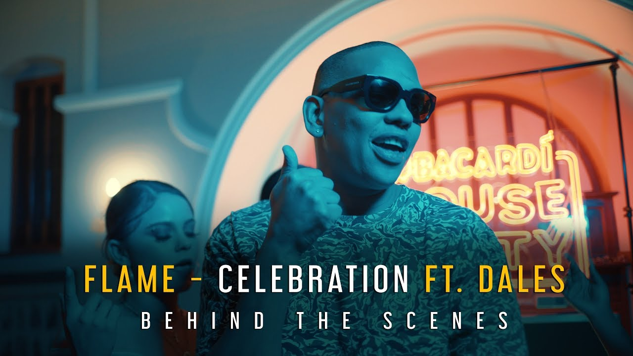 Flame - Celebration ft. DaLes | Behind the Scenes