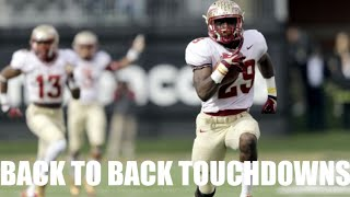 College Football: Back To Back Touchdowns Compilation