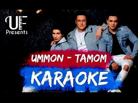 Ummon guruhi | Karaoke | Tamom | Qo'shiq matni va musiqasi
