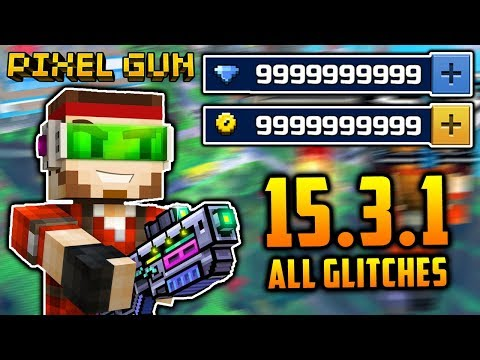 GLITCHES IN PIXEL GUN 3D! (FREE GEMS) [15.3.1]