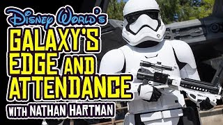 STAR WARS: Galaxy's Edge and Disney Attendance DECLINE with Nathan Hartman