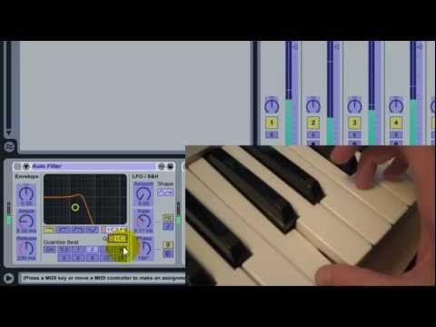 Mapping MIDI Keys to Parameter Ranges in Ableton Live