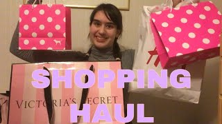 JANUARY SALES SHOPPING HAUL Victoria's Secret, Pink, H&M, ASOS, Ted Baker | My Extraordinary World